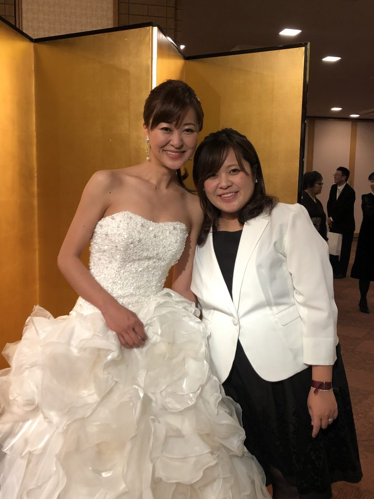 bridesmaid帝国ホテルウェディングレポート