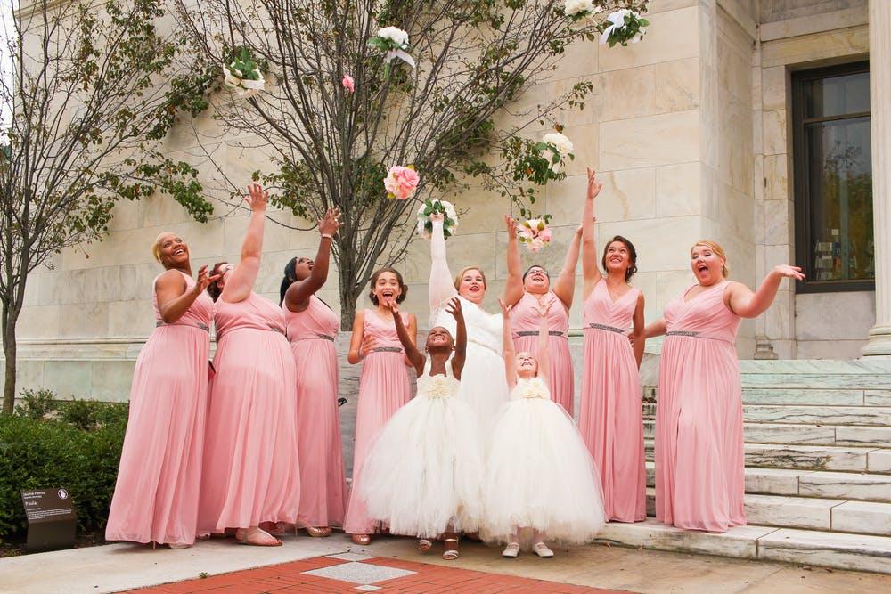 結婚式司会bridesmaid