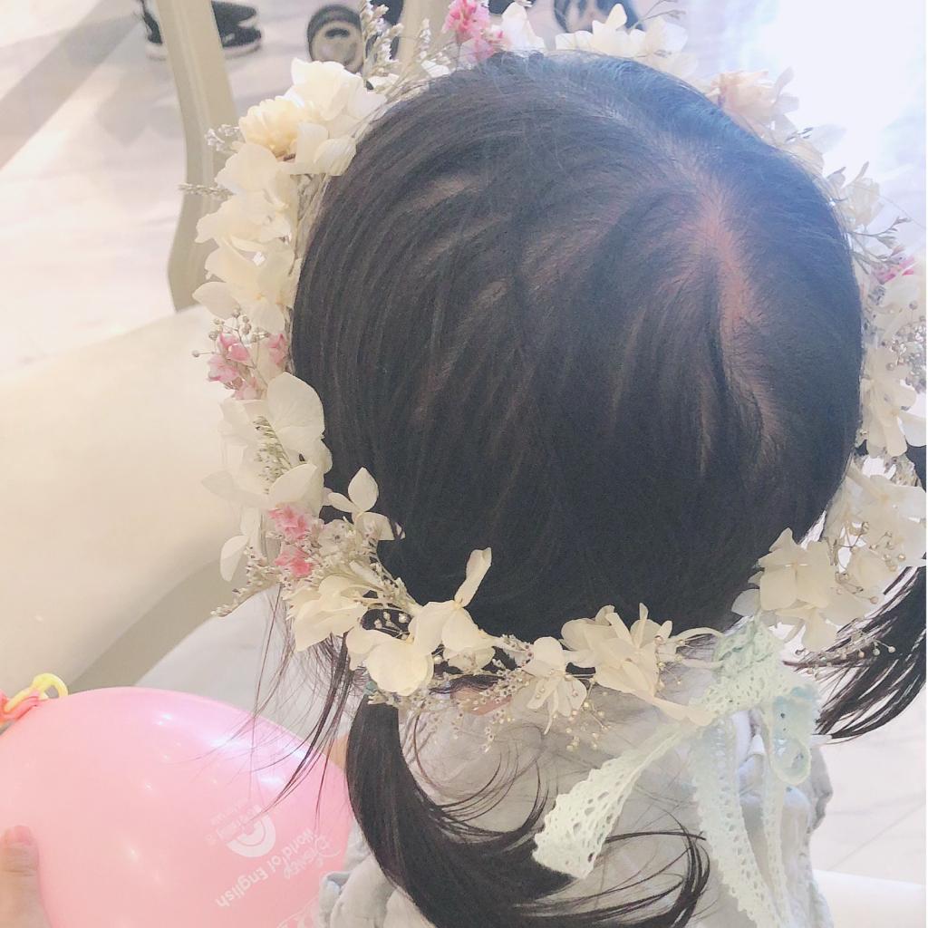 brides maidベビー花冠